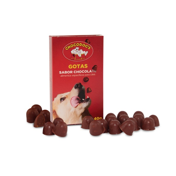 chocodogs gotinhas sabor chocolate